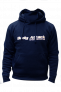 BODY ATTACK SPORTS NUTRITION  HOODIE NAVY